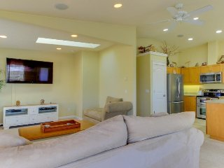 Dog-friendly home w/ bay views, nearby beach & bay access & shared pool, tennis! - Waldport vacation rentals