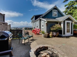 Renovated home w/ ocean views, private hot tub & nearby beach access - Newport vacation rentals