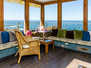 Seaside home w/ magnificent ocean views, private hot tub, & cozy wood stove! - Fort Bragg vacation rentals
