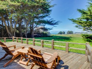 Lovely home with private hot tub, shared pool, ocean views & garden! Dogs ok! - Sea Ranch vacation rentals
