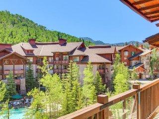 Custom condo w/ ski-in/ski-out access, shared hot tub, pool & more! - Solitude vacation rentals