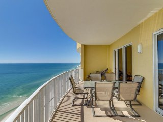 Top-floor, oceanfront condo w/ panoramic views plus hot tub & shared pool - Panama City Beach vacation rentals