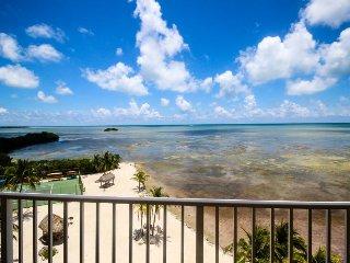 6th-floor oceanfront condo w/sweeping ocean views & shared pool, tennis, sauna! - Islamorada vacation rentals