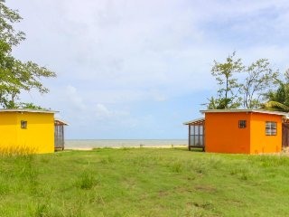 Charming oceanfront cabana w/ private beach, amazing views, & hammock! - Dangriga vacation rentals
