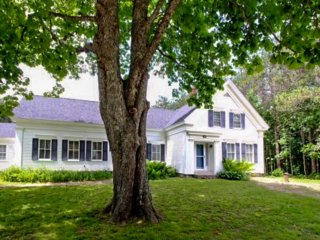 Historic, dog-friendly home w/ lawn, bikes, and walking access to the shore! - Waldoboro vacation rentals