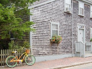 Historic dog-friendly home w/garden patio, shared pool, close to ferry & beaches - Nantucket vacation rentals