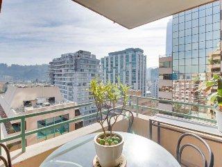 Bright condo w/ stunning views in center of town - Santiago vacation rentals