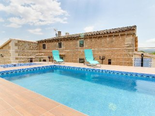 Restored villa with private pools, large garden & terraces in the countryside - Son Serra de Marina vacation rentals