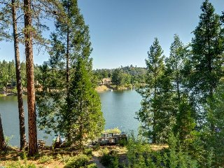 Lakefront home w/ lake views, private dock & shared pool! Yosemite nearby! - Groveland vacation rentals