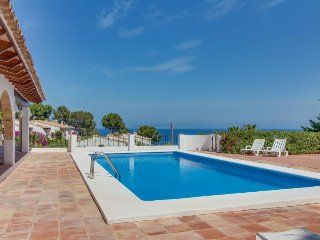 Dog-friendly, oceanfront villa with huge private pool, perfect for families - Calpe vacation rentals