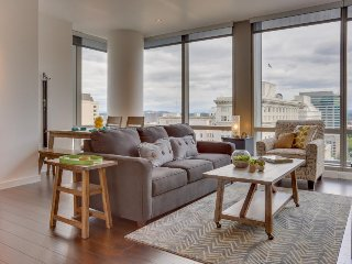 Upscale, dog-friendly downtown condo w/ great views & new furnishings! - Portland vacation rentals