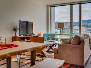 Swanky dog-friendly condo w/ great city views & ideal downtown location! - Portland vacation rentals