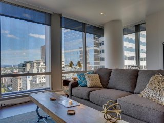 Two spacious, dog-friendly condos in downtown PDX - great views! - Medford vacation rentals
