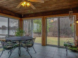 Gorgeous lakefront home with unbeatable lake views, sauna, huge yard! - North Hero vacation rentals