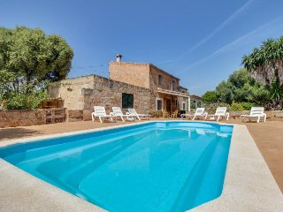 Mountain view country home with a private pool and terrace! - Algaida vacation rentals