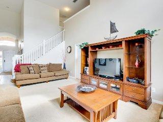 Spacious home near Orlando parks - pool/spa & game room! - Davenport vacation rentals