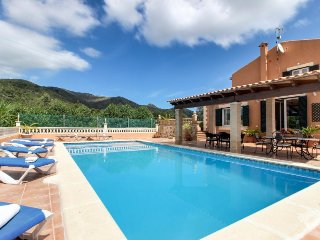 Family-friendly villa with a private pool, terraces & stunning views! - Arta vacation rentals