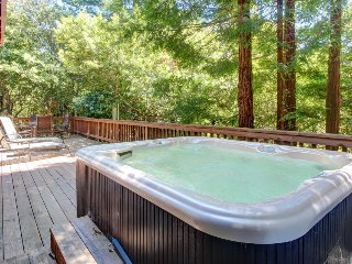 Atmospheric dog-friendly home w/ hot tub & 2 decks, close to the river & ocean! - Cazadero vacation rentals