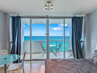 Sweeping oceanfront views & resort amenities aplenty including shared pool - Miami Beach vacation rentals