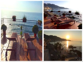SEA FRONT APARTMENT with terrace. Free Wi-Fi - Taormina vacation rentals
