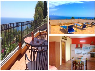CASA MORGETIA JUNIOR with view & terrace . Parking - Taormina vacation rentals