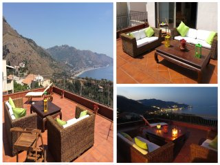 CASA MORGETIA with view and terrace. Free Parking - Taormina vacation rentals