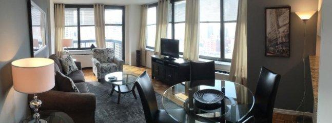 Homey 2 Bedroom, 2 Bathroom Apartment in Midtown West - Image 1 - New York City - rentals