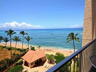 Great Views - Royal Kahana 7th Floor Ocean View 1 bedroom / 1 bath - Kahana vacation rentals