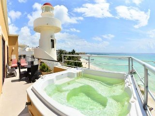Ocean Front 3 Beds Penthouse in Downtown - Playa del Carmen vacation rentals