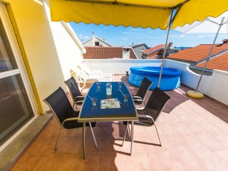 calm, quiet,comfort ,on high,view, terrace,pool - Zadar vacation rentals
