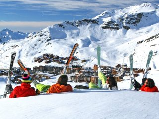 Comfortable 3 bedroom Val Thorens Condo with Internet Access - Val Thorens vacation rentals