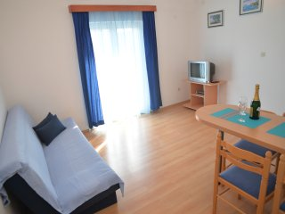 Apartments Branka- One Bedroom Apartment with Balcony (Blue) - Murter vacation rentals