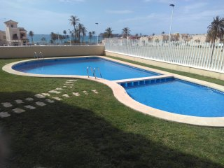 Beautiful vistas over sea and mountains and pool - Puerto de Mazarron vacation rentals