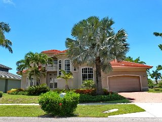 Spacious waterfront house w/ heated pool & upstairs balcony with water view - Marco Island vacation rentals