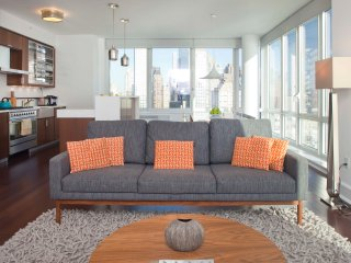 Breathtaking City Views 3 Bed Apt. in Lincoln Sq. - New York City vacation rentals