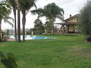 Paradise Villa with terrace garden and pool - Catania vacation rentals