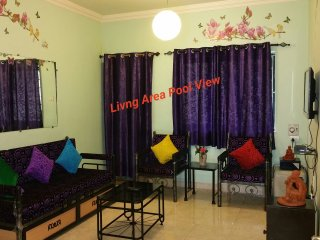 Goa Rentals 3bhk Pool Facing Apartment Calangute - Calangute vacation rentals
