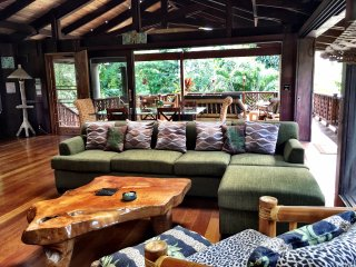 Modern Hawaiian Beach Villa- short stroll to beach - Haena vacation rentals