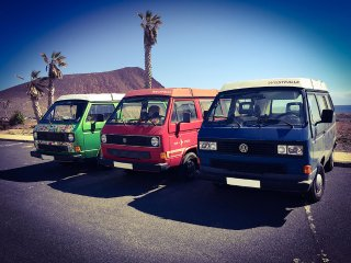 VW T3 CamperVan rentals Tenerife Canary Islands - Granadilla de Abona vacation rentals