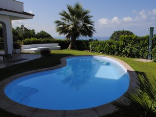 Appartamento in villa con giardino e private pool - Diamante vacation rentals