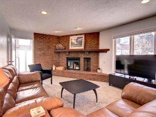 ALPINE GETAWAY: 3 bed/2 bath, Garage, W/D, King Bed, Trails and Free Bus - Silverthorne vacation rentals
