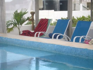 Family/friends apt w/hot tub and beach club BP2 - Playa del Carmen vacation rentals