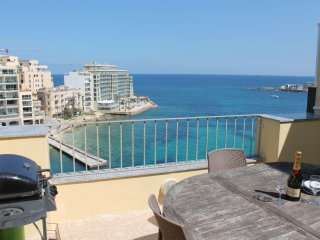St Julian`s  seafront penthouse - Saint Julian's vacation rentals