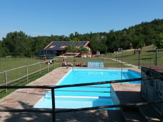 apart.in wood house at ground floor with pool - San Benedetto Val di Sambro vacation rentals