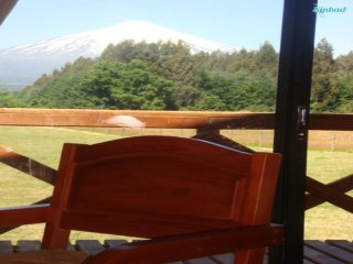 Charming 1 bedroom Cottage in Pucon with Shared Outdoor Pool - Pucon vacation rentals