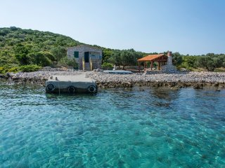 Waterfront cottage Nanara on an island in Dalmatia - Zizanj Island vacation rentals