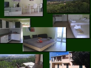 New spacious studio apartment with wonderful view - Agios Ioannis vacation rentals