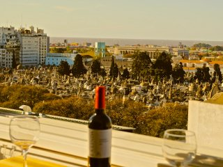 Stunning Recoleta view, one bedroom, marble floors - Buenos Aires vacation rentals