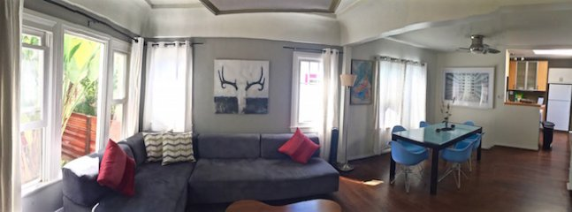 Panoramic Living/Dining room  - 6th Avenue Venice Sanctuary borders Santa Monica - Los Angeles - rentals