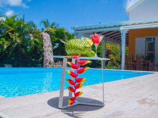 Villa Bel Arbre, 3 chambres avec piscine et spa - Saint-François vacation rentals
